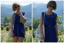 Marta K - Made Myself Bag, Made Myself Dress, Zara Cardigan, Zara Sunglasses, Vintage Belt - Let's go on a trip!