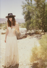 Wild At Heart - Vintage Wild At Heart Crochet Maxi Skirt, Crochet One Piece, New Mexico Gas Station Concho Hat - No place to go.