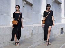 Hedvig ... - Cos Jersey Dress, Michael Kors Sandals, 3.1 Phillip Lim Bag, Ray Ban Ray Ban - Au revoir