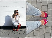 Sanela ✿ - Mango Sweater, Christian Louboutin Shoes - I can do anything with the right shoes