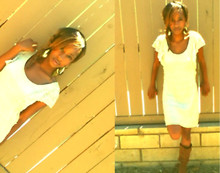 Chykira Lazeth - Newyork && Company Sade Boot, Forever 21 Lace White Dress - Touch Is Stricken, Cold And Clinical