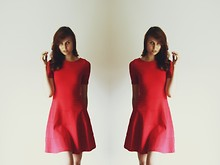 Ewa B. - Zara Dress - Little red dress.