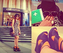 Jennica Castro - Bcbg Bag, Payless Socks, Forever 21 Ring, Sunglasses, Dress - The #12 rule of an explorer: Go without a plan