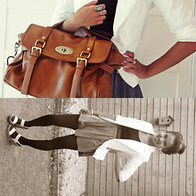 Jasmin S. - Mulberry Fake Alexa Bag, The Hague Market White Blazer, Somewhere In Italy Beige Wedges - Best thing I never had