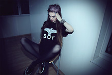 Violet Ell - Boy London T Shirt, Tuk Creepers - 02.08.2011