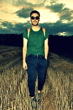 Pete .N - Vintage Sunglasses, Asos Tshirt, Zara Jeans, Underground London Shoes - BEYOND