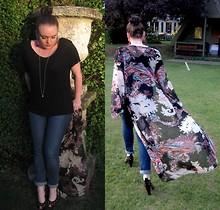 Lidyaa AndStuff - Mawi Earrings, Found Kimono, Nw3 Shoes - 0007 - The Garden Shed