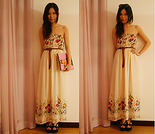 Isabella Destiny - Forever 21 Maxi, Forever 21 Belt - My boyfriend is book