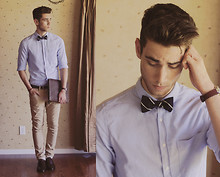 Edward Honaker - Kasil Workshop Jeans, Topman Shirt, Ralph Lauren Tie, Bostonian Shoes - Double Shadow