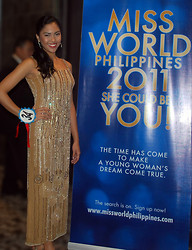 Yelle Dela Cruz - Custom Made Fully Beaded Long Gown - Miss World Philippines 2011 Final Screening