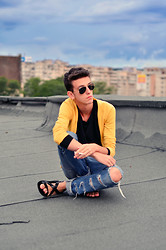 Angelo S. - Ray Ban Sunglasses, Zara Cardigan - I miss the way you like to dress ...