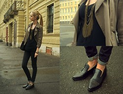 Alina Whybe - Topshop Jeans - Petersburg