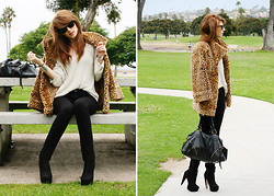 Jade Elise - Urban Outfitters Purse, Self Made Jacket, Free People Sweater - Repeat offender