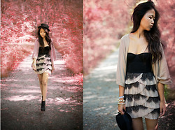 Anna Zhu - Zara Cardigan - I walk this empty street on the boulevard of broken dreams