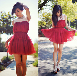 Jenny Ong - Chic Wish Dress, Jeffrey Campbell Platforms - Once in a while