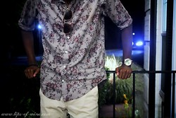 Auto Krat - Zara Floral Print Woven Button Up, Gap Retro Fit Chino - Sneak'r Peek'r
