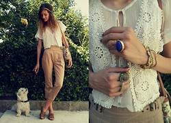 Lorena M - Mango Pants, Zara Vest - Don't tell I'm less than my freedom