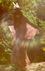 Wild At Heart - Vintage Kaftan - Morning has broken.