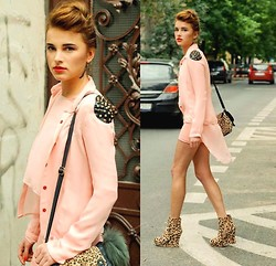 Juliett Kuczynska - Wedges, All Pink - IO - You/Me / maffashion blog