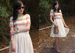 Fashion Pea - Missoni Knit Top, Prada Skirt, Furla Bucket Bag - Outfit 270811