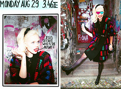 Bonnie Strange - Vintage Coat That I Named ''August'', Vintage Boots - AUGUST IS THE NEW WINTER
