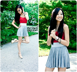 Yitong Wang - Steve Madden Heels, Fossil Watch - Casual Wednesday