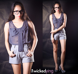 Wicked Ying - Visit My Blog For More: Http://Wickedying.Com/ - Look 149: The Gray Matter