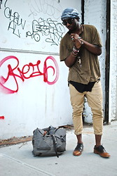 Kadeem Johnson - John Varvatos Shirt, Rick Owens Tank, Topman Pants, Asos Shoes - THE GRUNGY APPEAL