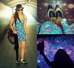 Jennica Castro - Dress, Shoes, Sunglasses, Hat - Bon voyage ♥ ♥ ♥