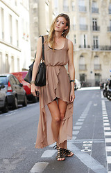 Leslie K - Lf Sheer Maxi Dress - Rue de fleurus