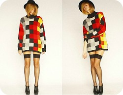 Rhiannon Janae - Rack Traffic Vintage Sweater - When your mind turns to fiction