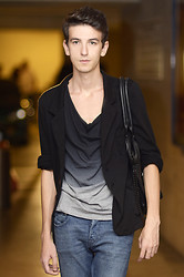 Angelo S. - H&M T Shirt, Acne Studios Jeans, Zara Hand Bag - ... but you will pay me !