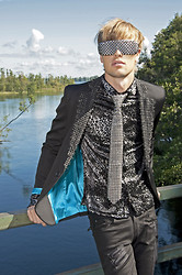 Fredric Johansson - Byther Shades, Byther Tie, Byther Shirt, Byther Blazer, Byther Pants - Tie me up
