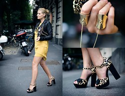 Veronica Ferraro - Asos Sandals, Asos Ring, Stella Mccartney Clutch -  I'm never smart with love