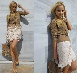 Violetta Privalova - Bershka Sweater, River Island Bag, Showroom Skirt, Zara Heels - Saturday