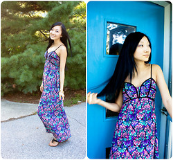 Yitong Wang - Target Maxi Dress - Let Your Hair FALL