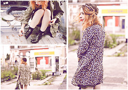 Laure McGalloway - Diy, H&M Leo, Diy - Green army, unrestricted...