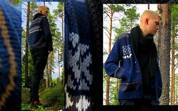 Jussi Lustig - Selected Cardigan, Selected Leather Boots - I don't have reindeer