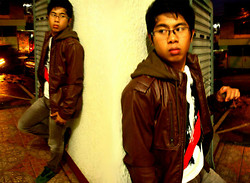 Kim De Ramos - Forever 21 Brown Jacket, Folded And Hung Slim Fit Pants., Mental 5 Shirt, Giordano Glasses, Hi Tec Squash Delux - Chillin'