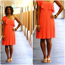 Tanya Weekes - Mango Dress - So Don't Go, Don't Leave, Please Stay...