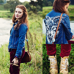 Anita Suchocka - Wolf Jacket, American Eagle Vintage Boots, New Look Pants - She Wolf