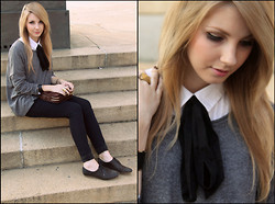 Pavlina J. - Zara Handbag, Topshop Oxfords, H&M Sweater - Good times bad times