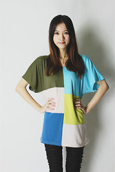 Vic_ Vic - Wholesale Dress Fashion Western Style Round Neck T Shirt - Helloo