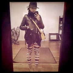 Yoshi - - Leggings, Stüssy Moto Jacket - Whee leggings!