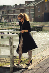 Christine R. - Zara Snake Print Trousers - Late Summer..