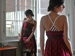 Josie Michelle - Restyled Vintage Dress, Vintage Belt - Restyled