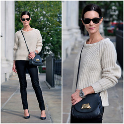Hedvig ... - Cos Pants, Acne Studios Knit, Acne Studios Bag, Cos Shoes, Tagheuer Watch - Nostalgia