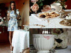 Gresy D. - Topshop Dress, Bershka Shoes - Make tea, not war !