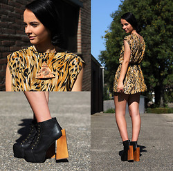 Eline Coolen - Jeffrey Campbell Heels - New jeffrey campbell shoes, got to love them!