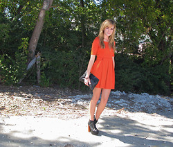 Niki Adams - Forever 21 Dress, Thrifted Clutch, Litas Shoes - Simplicity.